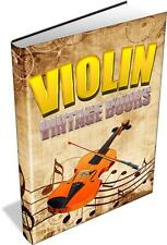 102 Vintage Violin Books on DVD- Repair,Making,Restoration,Varnishing,fiddle