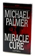 MIRACLE CURE By Michael Palmer  (1998, Cassette, Abridged). (2418)