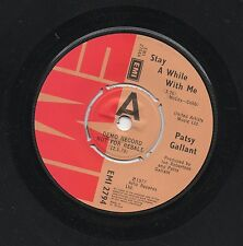 PATSY GALLANT - STAY A WHILE WITH ME / WHY. (UK, 1978, DEMO, EMI 2794)