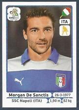 PANINI EURO 2012- #317-ITALIA-ITALY-NAPOLI-MORGAN DE SANCTIS