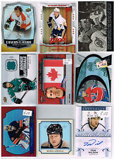 HUGE Lot Of 2014-15 Autos - Game Used - Rookies - Parallels - Inserts - Base