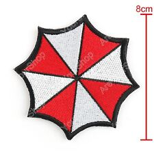 Resident Evil Gestickt Abzeichen Patches Umbrella Corporation Hook Loop Patch