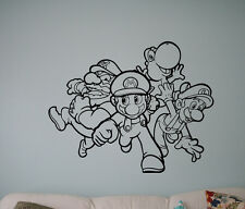 Video Game Super Mario Wall Vinyl Decal Vinyl Stickers Superhero Home Interior 1