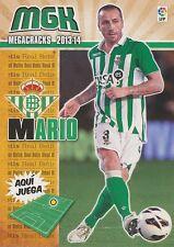 N°078 PEDRO MARIO ALVAREZ # ESPANA REAL BETIS CARD PANINI MGK LIGA 2014