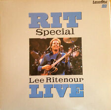 RIT LIVE/Lee Ritenour - Laserdisc Vintage Video BUY 6 OR MORE FREE SHIPPING