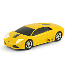 Road Mice Lamborghini Murcielago Car Wireless Computer Mouse - Yellow