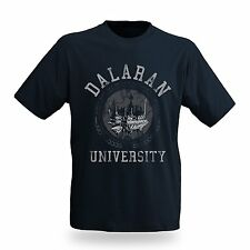 Jinx Mens Men's World Of Warcraft Dalaran University T-Shirt Large