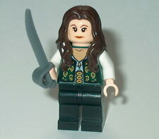 PIRATES OF THE CARIBBEAN #08 Lego Angelica w/sword Custom NEW Genuine Legos