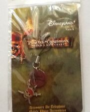 DISNEYLAND RESORT PARIS PIRATES OF THE CARIBBEAN CELL  PHONE DANGLE CHARM  NOC