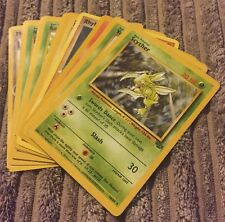 10 Rare Pokémon First Edition Trading Cards