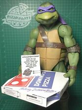 TMNT 1/4 SCALE PIZZA BOX ONLY for NECA FIGURE DONATELLO NINJA TURTLES MOVIE 1990