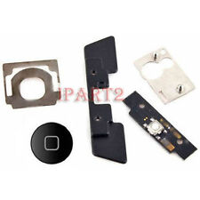 Home Button Click Inner 5 Set Replacement Part Kit for Apple iPad 2 & 3 (Black)