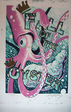 OYSTERHEAD FALL TOUR 2001 CONCERT POSTER BY AJ MASTHAY PHISH PRIMUS THE POLICE