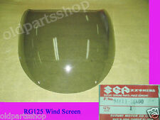 Suzuki RG125 Gamma Windscreen NOS Genuine Wind Shield Top Cowling 94611-36A00