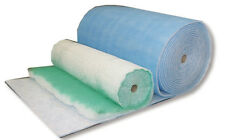 Spray Booth Air Input Filter Media Roll 1m x 20m x 20mm thick - Blue