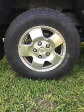 2008 Toyota Tundra rims and tires