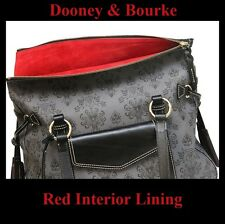 RED Disney Haunted Mansion Dooney And Bourke Smith Purse Handbag First Edition!
