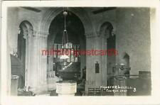REAL PHOTO POSTCARD MINSTER LOVELL CHURCH, NEAR WITNEY, OXFORDSHIRE, PERCY SIMMS