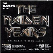 Iron Maiden Tribute CD NEW SEALED Paul Di'anno/Steve Grimmett/Steve Overland