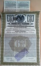 Mexico 1913 Republica Mexicana Bono Tesoro £20 Gold Bond Loan