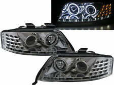 A6/S6 C5 4B 97-01 PRE-FACELIFT CCFL Projector R8Look Headlight CH for AUDI LHD