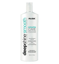 RUSK DEEPSHINE Deep Smooth Keratin Care Smoothing Conditioner 33.8 OZ, Vitamins