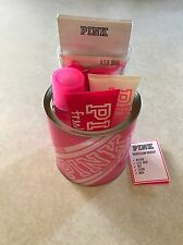 NWT VICTORIA'S SECRET PINK FRESH & CLEAN MIST LOTION USB WASH PAIL GIFT SET NEW