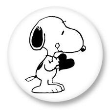 Magnet Aimant Frigo Ø38mm Snoopy Peanuts Charlie Brown Comic strip