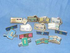 Metal Pin Badge Button Enamel Tac o Tac Advertising Badge x15 Job Lot