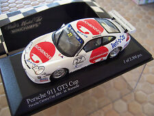 PORSCHE CARRERA CUP 2004 911 996 GT3 CUP RACE CAR 1:43rd MINICHAMPS NEW IN BOX