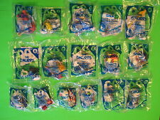 2011 McDonalds - Smurfs - set of 16 *MIP*