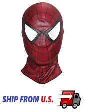 Spider-Man 3 Costume Hood Mask 2 for Adult Teens Halloween cosplay ❶US Seller❶