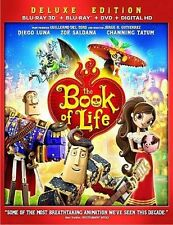 The Book of Life Blu-ray 3D disc only w/ case artwork *NO OTHER PARTS*