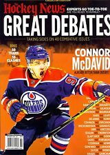 The Hockey News Collector's Edition GREAT DEBATES (40 Combative Issues)
