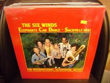 THE SIX WINDS Elephants Can Dance 1988 Sackville SEALED Sax Sextet
