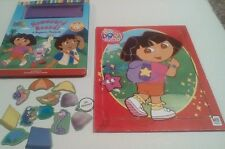 Dora the Explorer Magnetic Playbook Homeward Bound MB Wood Puzzle 2004 2005 Book
