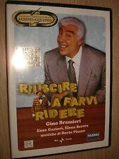 DVD RIUSCIRE A FARVI RIDERE GINO BRAMIERI GARINEI GIOVANNINI TEATRO