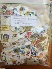 Decimal Stamps Off Paper 250g  Mostly Letter Rate from 1c to 60c,  Some $1 & $2'