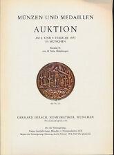 HN HIRSCH Munzen und Medaillen Auktion 76 1972 Munchen
