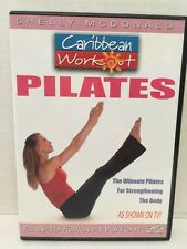 Pilates Workout Fitness Exercise DVD Video Caribbean Workout With Shelly Mcdonal