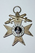 Old Order Bavaria Military merit cross 2. Class with Swords MVK Enamelled