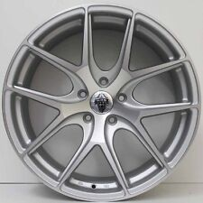 20 inch GENUINE HRS HRE STYLE ALLOY WHEELS SUIT LARGE BRAKES COMMODORE SILVER