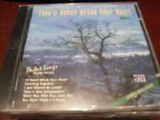 POCKET SONGS KARAOKE DISC PSCDG1353 THEYLL NEVER BREAK YOUR HEART CD+G MULTIPLEX