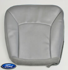 04-08 Ford E150 Handicap Wheelchair Lift Van-Driver Bottom Vinyl Seat Cover GRAY