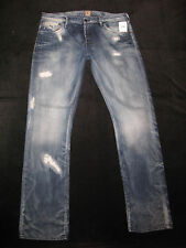 PRPS Jeans Mens Classic Rise Straight Leg Distressed Sz 38 x 35  NEW MSRP $248