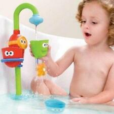 New Kids Baby Gift Funny Cartoon  Flow 'N' Fill Spout Bath Learning Toy -Q