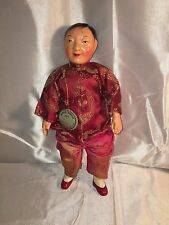 """Michael Lee Micale Chinese Character 10"""" Dolls (GIRL) 1940's"""