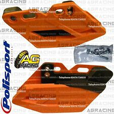 Polisport Performance Orange Rear Chain Guide For KTM EXC-F 350 2012-2016 Enduro