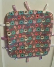 OWL Taggie ribbon toy for infant or toddler