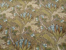 William Morris Luxury Curtain 'ARTICHOKE' Fabric 6 metres